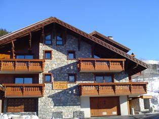 Vacances en montagne Appartement 3 pièces 6 personnes (B7) - Résidence les Jardins du Morel - Méribel - Extérieur hiver