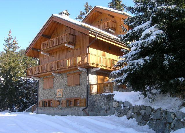 Vacances en montagne Appartement 2 pièces 6 personnes (2) - Résidence les Perdrix - Méribel - Extérieur hiver