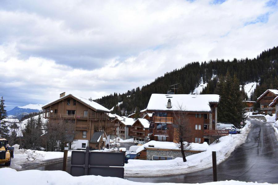 Vacances en montagne Résidence les Perdrix - Méribel - Extérieur hiver