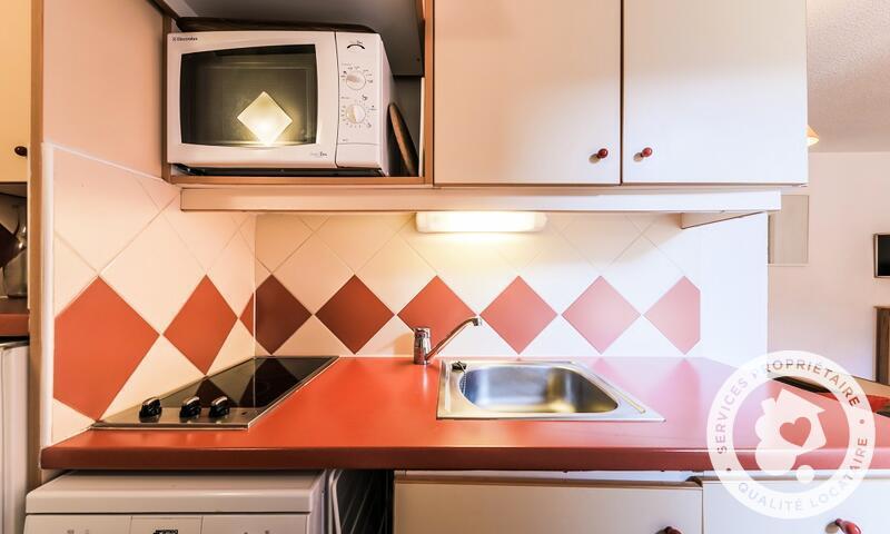 Vacances en montagne Studio 4 personnes (Sélection 24m²) - Résidence les Ravines - Maeva Home - Méribel - Extérieur hiver