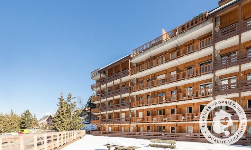 Location au ski Résidence les Ravines - Maeva Home - Méribel - Extérieur hiver