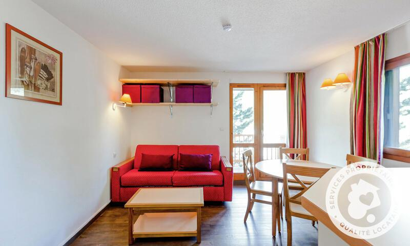 Location au ski Studio 4 personnes (Confort 24m²-3) - Résidence les Ravines - Maeva Home - Méribel - Extérieur hiver