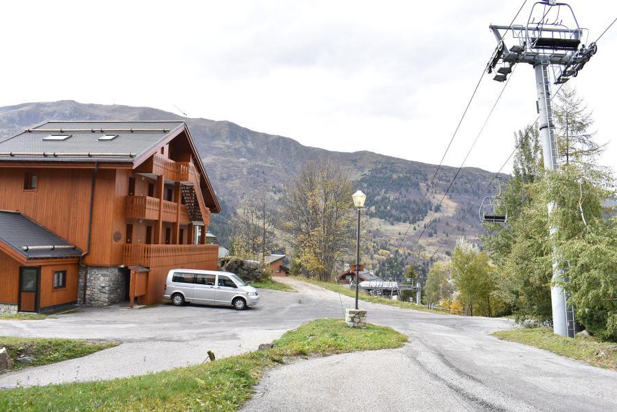 Alquiler al esquí Estudio para 2 personas (B2) - Résidence les Sapineaux - Méribel