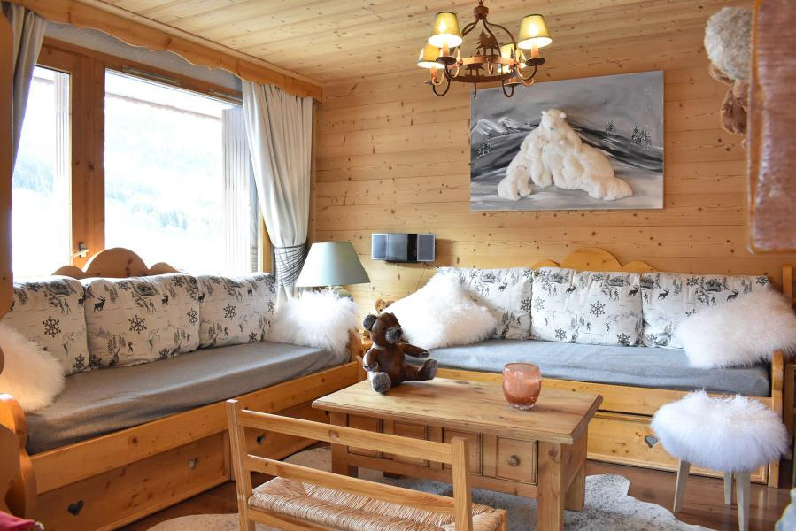 Location au ski Appartement 3 pièces 7 personnes (16) - Résidence les Silènes - Méribel - Séjour
