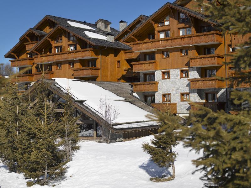 Location au ski Residence P&v Premium Les Fermes De Meribel - Méribel - Extérieur hiver