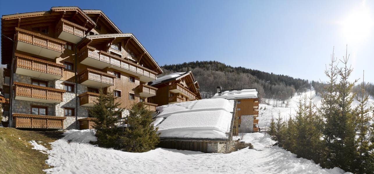 Vakantie in de bergen Résidence P&V Premium les Fermes de Méribel - Méribel - Buiten winter