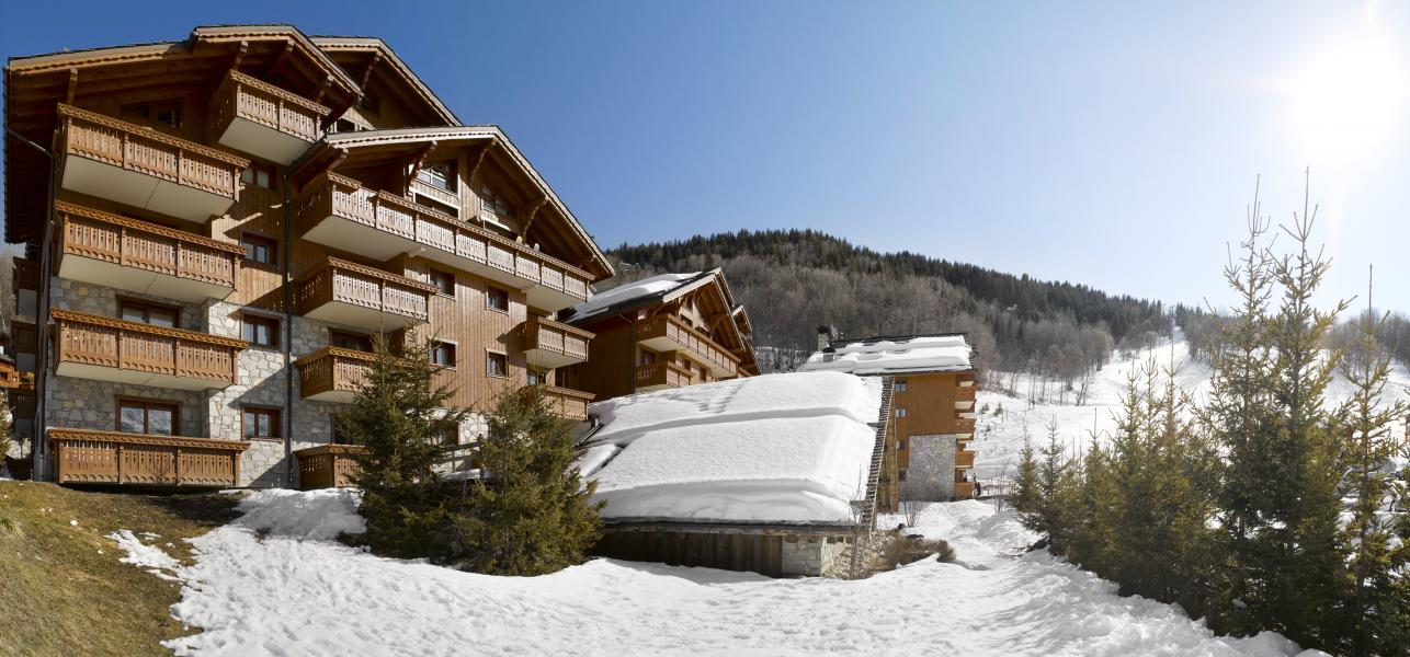Alquiler al esquí Résidence P&V Premium les Fermes de Méribel - Méribel - Invierno