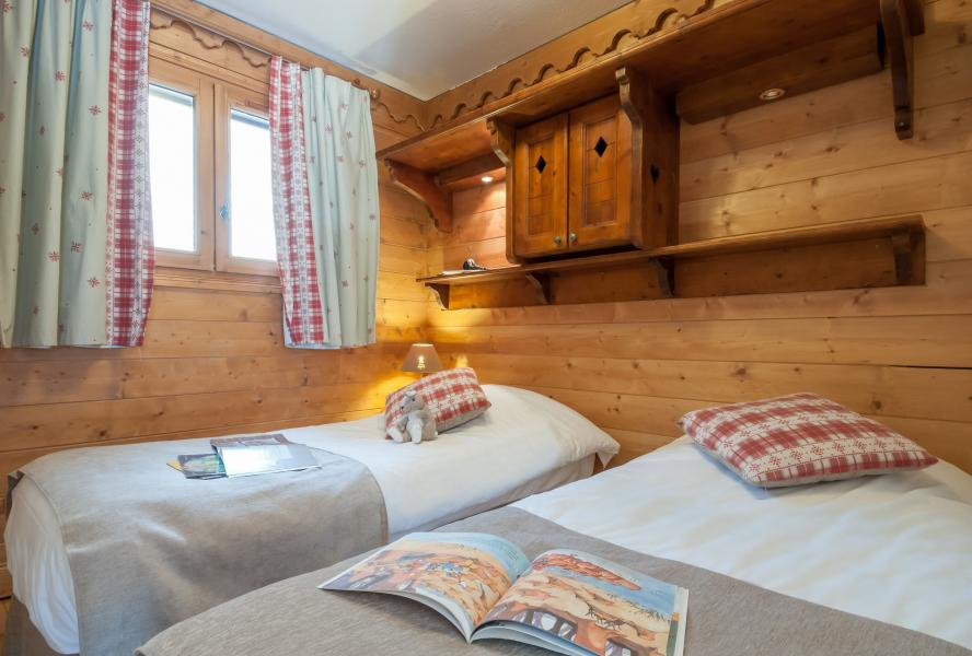 Alquiler al esquí Résidence P&V Premium les Fermes de Méribel - Méribel - Cama individual