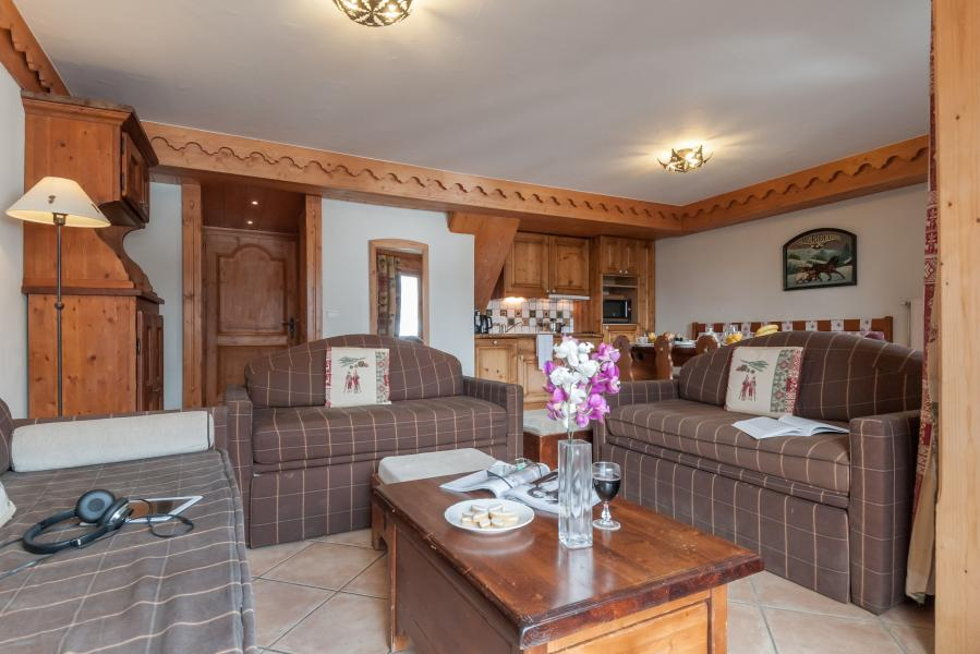 Location au ski Residence P&v Premium Les Fermes De Meribel - Méribel - Coin repas