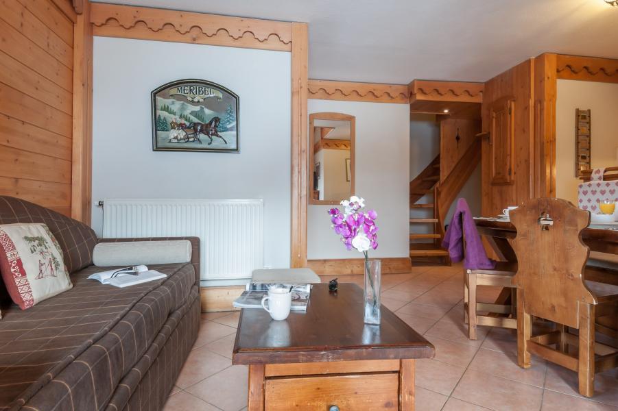 Location au ski Residence P&v Premium Les Fermes De Meribel - Méribel - Table basse