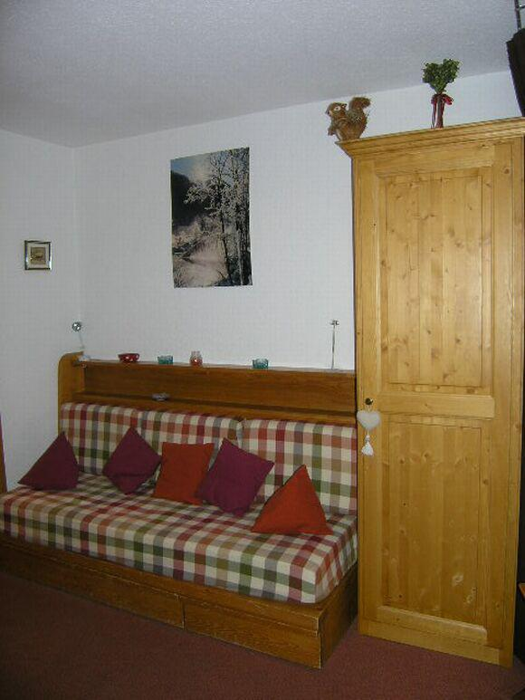 Location au ski Studio 4 personnes (3A63) - Résidence Peclet-en Garnet - Méribel - Séjour