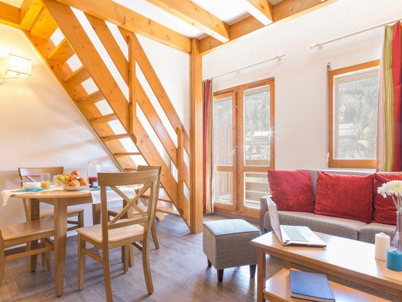 Location au ski Studio cabine mezzanine 6 personnes - Résidence Pierre et Vacances les Ravines - Méribel