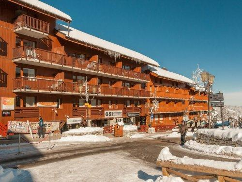 Vacances en montagne Résidence Pierre & Vacances le Peillon - Méribel - Extérieur hiver