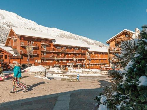 Location au ski Résidence Pierre & Vacances le Peillon - Méribel - Extérieur hiver