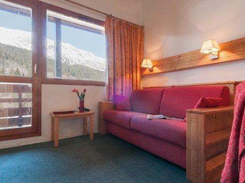 Аренда на лыжном курорте Résidence Pierre & Vacances le Peillon - Méribel - Сиденье банкетка