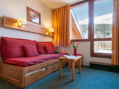 Аренда на лыжном курорте Résidence Pierre & Vacances le Peillon - Méribel - Диван кровать