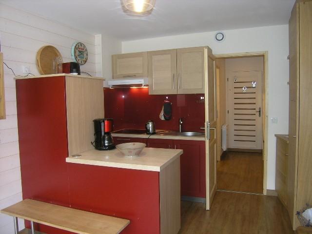 Location au ski Studio 4 personnes (5) - Residence Squaw Valley - Méribel - Kitchenette