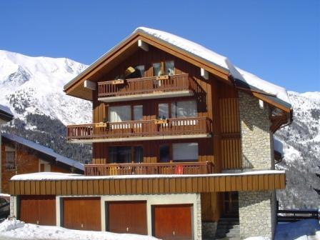 Location au ski Residence Surf - Méribel - Extérieur hiver