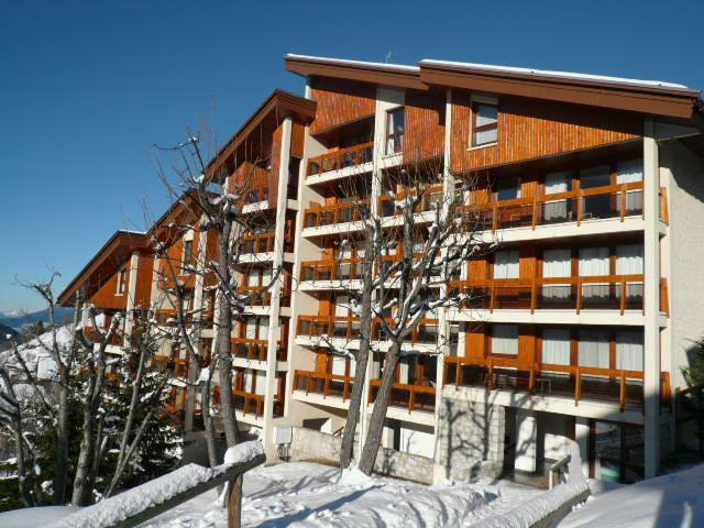 Location au ski Résidence Trois Marches Bat D - Méribel - Extérieur hiver