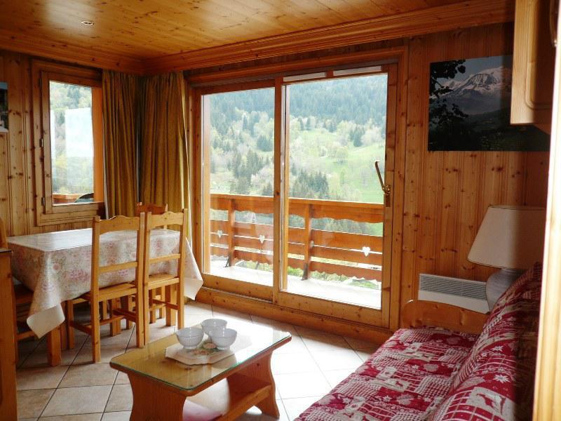 Skiverleih 3-Zimmer-Appartment für 5 Personen (03) - Résidence Tsanteleina - Méribel - Wohnzimmer