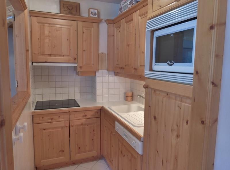 Location au ski Appartement 3 pièces 6 personnes (01) - Residence Tsanteleina - Méribel - Cuisine