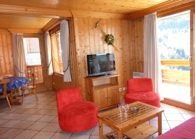 Location au ski Appartement 3 pièces 6 personnes (01) - Residence Tsanteleina - Méribel - Fauteuil