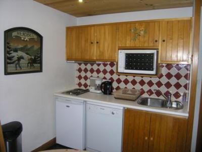 Location au ski Appartement 2 pièces 4 personnes (3) - Chalet Alpen Rose - Méribel - Kitchenette