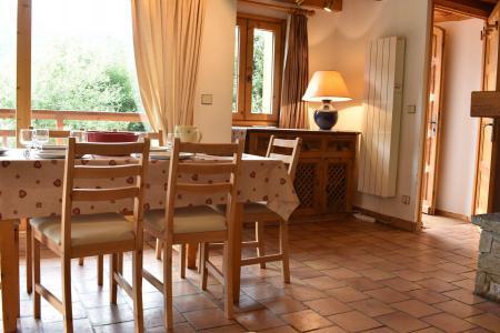 Location au ski Chalet duplex 3 pièces 6 personnes (MRB000-107) - Chalet Bonmartin - Méribel - Table