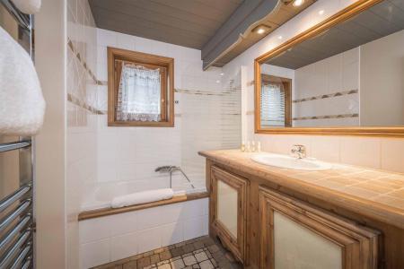 Аренда на лыжном курорте Chalet Brioche - Méribel - Ванная