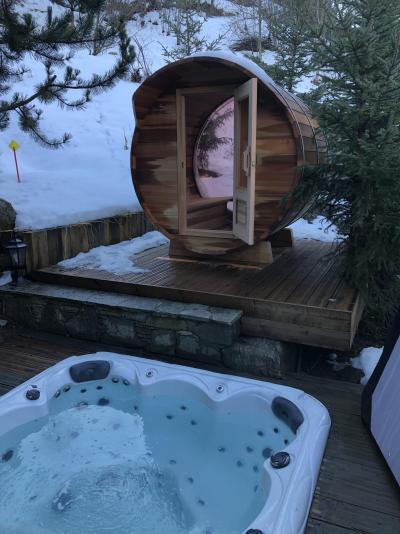 Location au ski Chalet Brioche - Méribel - Relaxation