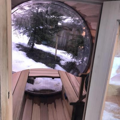Location au ski Chalet Brioche - Méribel - Sauna