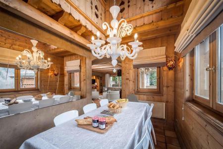 Аренда на лыжном курорте Chalet Brioche - Méribel - Стол