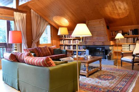 Аренда на лыжном курорте Шале 6 комнат 12 чел. - Chalet Cret Voland - Méribel - Салон