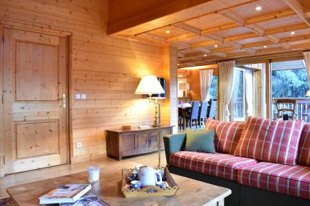 Alquiler al esquí Chalet 6 piezas para 12 personas - Chalet Cret Voland - Méribel - Apartamento