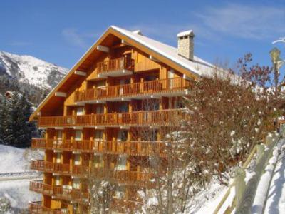 Holiday in mountain resort Chalet de Méribel - Méribel - Winter outside