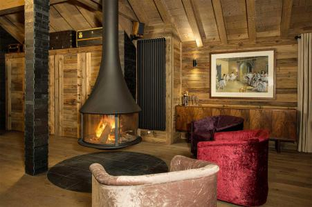 Location au ski Chalet Iona - Méribel - Séjour