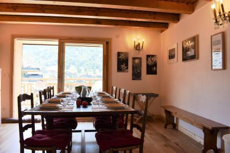 Location au ski Chalet 5 pièces 12 personnes - Chalet la Mia - Méribel - Appartement