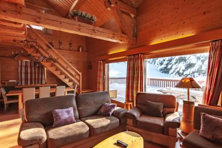 Location au ski Chalet 7 pièces 12 personnes - Chalet le Grillon - Méribel