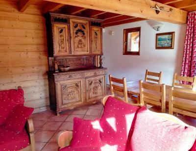 Rent in ski resort Chalet Le Lys Blanc - Méribel - Dining area