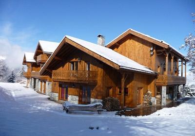 Location au ski Chalet Opaline - Méribel - Extérieur hiver