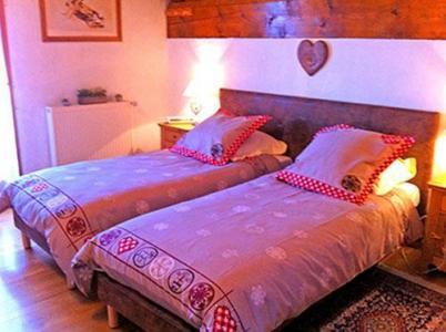Location au ski Chalet 3 pièces cabine 6 personnes - Chalet Raffort - Méribel - Lit simple