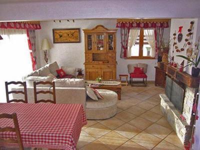 Location au ski Chalet 3 pièces cabine 6 personnes - Chalet Raffort - Méribel - Séjour