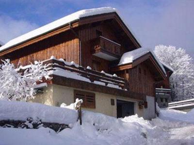 Location au ski Chalet 3 pièces cabine 6 personnes - Chalet Raffort - Méribel - Extérieur hiver