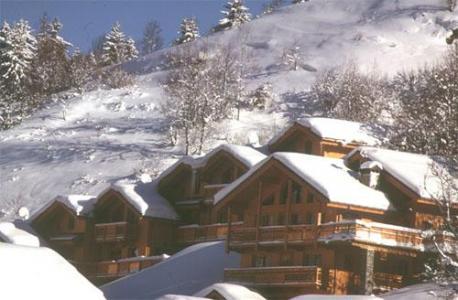 Location au ski Chalet Vallon - Méribel - Extérieur hiver
