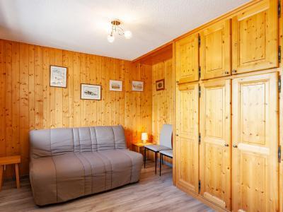 Аренда на лыжном курорте Апартаменты 2 комнат 5 чел. (B2) - La Résidence le Christmas - Méribel - Диван-кровать