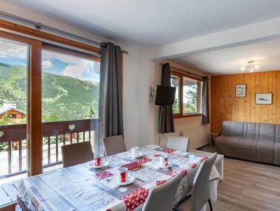 Аренда на лыжном курорте Апартаменты 2 комнат 5 чел. (B2) - La Résidence le Christmas - Méribel - Стол