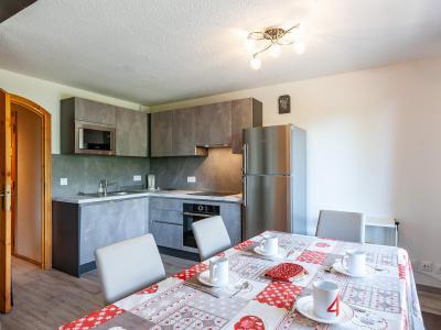 Location au ski Appartement 2 pièces 5 personnes (B2) - La Résidence le Christmas - Méribel - Table