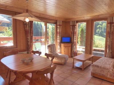 Location au ski Appartement 3 pièces 6 personnes - La Résidence le Grand Duc - Méribel - Séjour