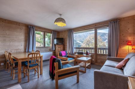 Rent in ski resort 3 room apartment 8 people (12) - La Résidence le Surf - Méribel - Dining area