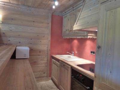 Rent in ski resort 3 room apartment 6 people (40) - La Résidence les Brimbelles - Méribel - Kitchenette